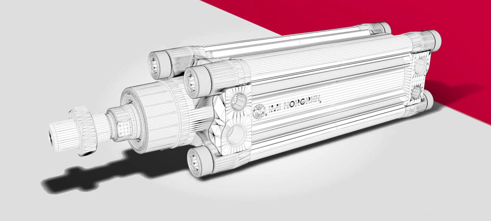 Pneumatics – Norgren launches an improved stainless steel cylinder