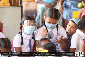 Intech's donation for Ceylon – y